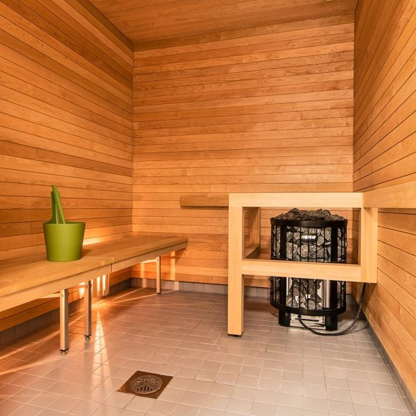 Hoivakodin sauna